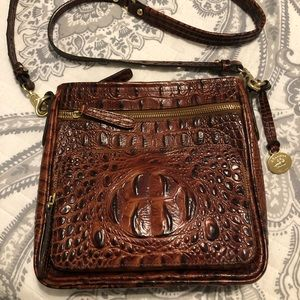 Fantastic condition Brahmin crossbody handbag